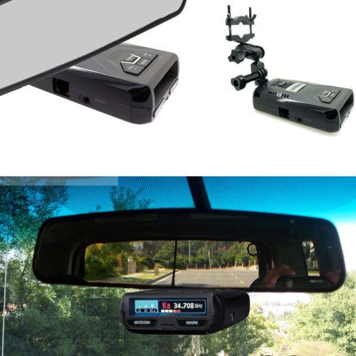 Car Truck Rearview Mirror Mount For Uniden R1 R3 R4 Dfr6 Dfr7 Dfr Radar Detector