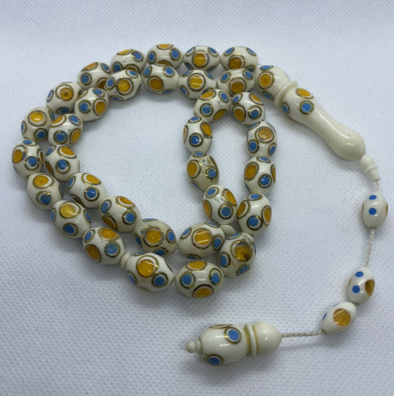 Camel Bone Misbaha Tesbih Rosary Prayer Worry Beads سبحه عضم جمل