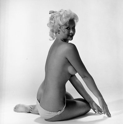 1960S Ron Vogel Negative  Gorgeous Nude Pin Up Girl Janice Lee  T203409