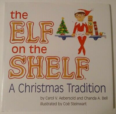 The Elf on the Shelf A Christmas Tradition Girl Book only HC/DJ 2005 Free Ship