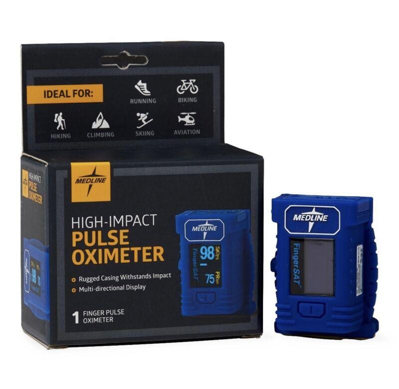 MEDLINE High-Impact Finger Pulse Oximeter 1 Each / Each