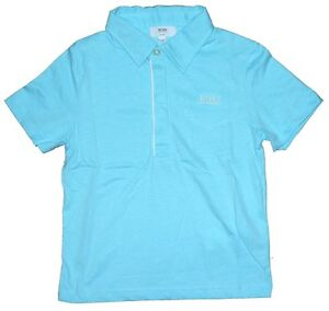 Boys HUGO BOSS Short Sleeve Polo Shirt/Top, Sizes 4 Years-16 Years, *NEW