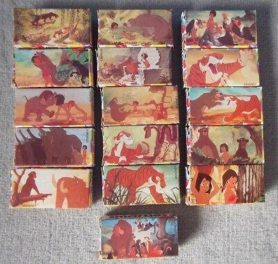 Disney Dschungelbuch 16x Karton Box Smarties leer Nestle Filmbilder Figur Mogli
