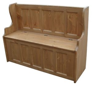 Solid-Pine-4-Settle-Monks-Storage-Bench-with-Storage-UK-MADE