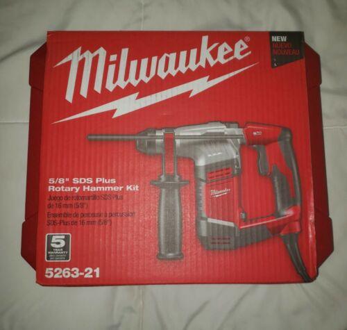 Milwaukee 5263-21 5/8 inch SDS Plus Rotary Hammer Kit