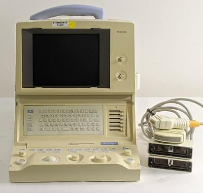 Toshiba Just Vision 200 Ultrasound Pvg-366m And Pvg-720s Probe