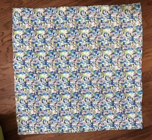 New Handmade Dog Quilt Design 35.5x35.5 In Cotton Unisex Baby/toddler Quilt - $50.00