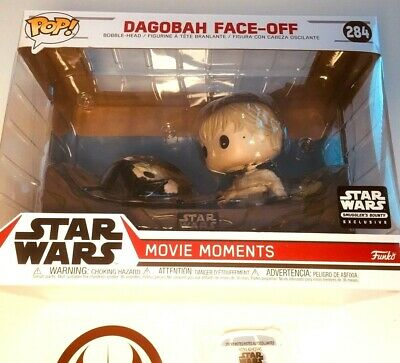 Star Wars Funko POP 284 Dagobah Face Off Movie Moments Decal & R2D2 Sticky Notes