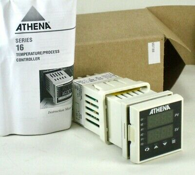 Athena Temperature Controller 16-rc-f-t-00-00 Type R Thermocouple 0 To 1750c