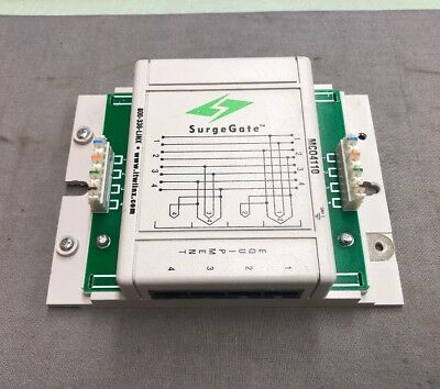 Itw Linx Surgegate Mc04110 Secondary Telecom Protector 8-wire Protection