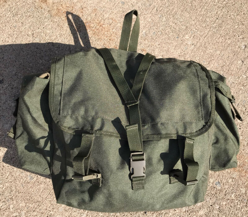 Canadian Army Style NBC Pack OD OG 107 Backpack Reproduction Not Original