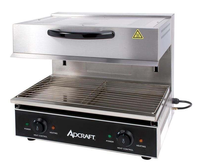 "Adcraft Sal-4000w 23""w Stainless Steel Electric Salamander 4000 Watts"