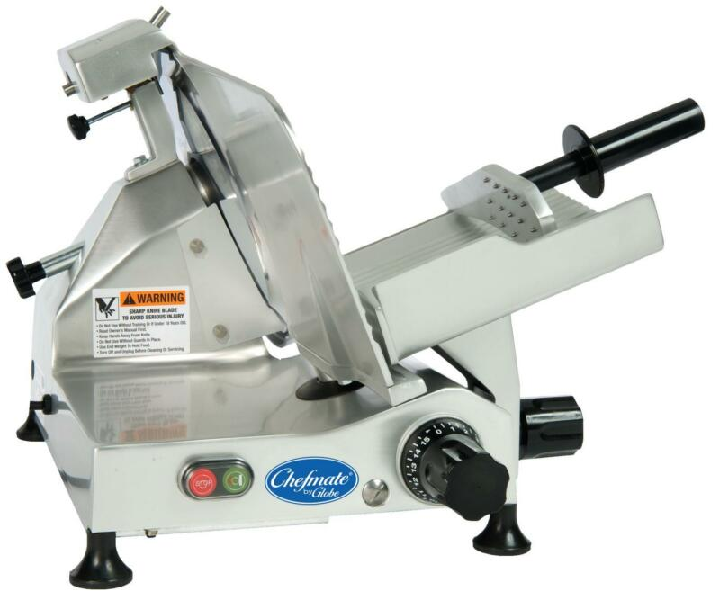 "Globe C12 12"" Chefmate Manual Electric Food Slicer Light Duty .33 HP"