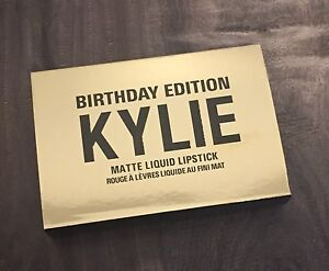Kylie Birthday Edition Mini Matte Liquid Lipsticks