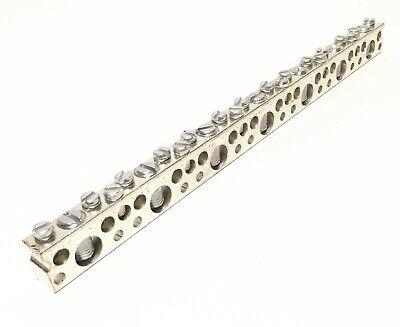 Ilsco N868 Nb-16 Tin Plated Copper Neutral Bar 10-14 6-14 Cu Only 8 Inch