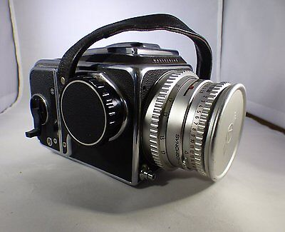 Hasselblad SLR 500 C camera Carl Zeiss lens 1:2.8 f=90mm