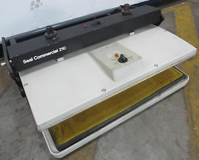 Seal Commercial 210 Dry Mount Hot Press Dry Sealer Laminator Tested Working