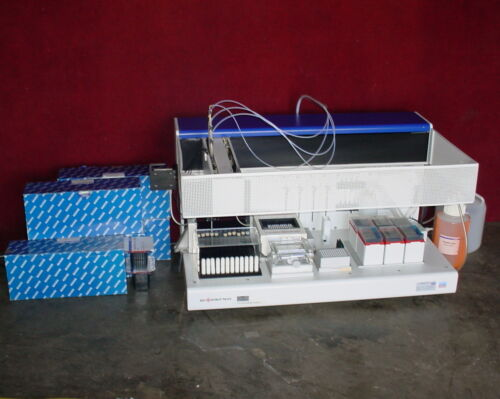 Qiagen Biorobot 9604 96/2 Autosampler w/Supply of Disposable Tips!