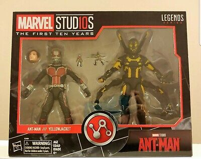 New Marvel Legends Ant-Man & Yellowjacket Marvel Studios 10th Anniversary 6&