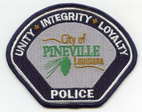 PINEVILLE LOUISIANA Unity Integrity Loyalty POLICE PATCH