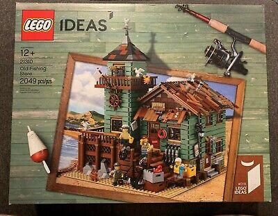 Brand New LEGO Ideas Old Fishing Store NISB (Item: 21310)!