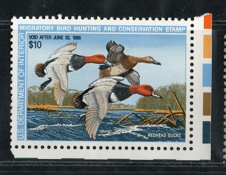 U.S. Scott RW54 1987 Duck Stamp MNH OG - $4.75