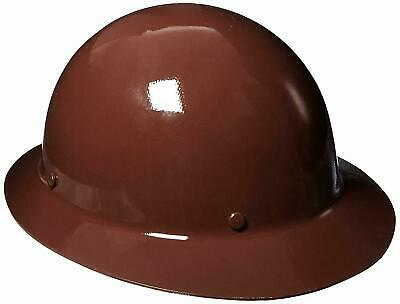 Msa Safety 454672 Skullgard Brown Protective Hat W Staz-on Suspension