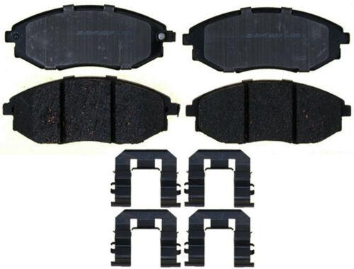 Disc Brake Pad Set-Ceramic Disc Brake Pad Front ACDelco Pro Brakes 17D1367ACH