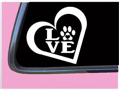 Love Dog Paw Heart TP 330 Sticker 6
