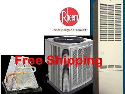 3 Ton R-410A 14Sibyl Mobile Home Gas Heating System Condenser / G Furnace /Coil