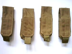 Lot-of-4-each-LBT-6135A-40mm-grenade-pouch-color-Coyote-brown-NEW