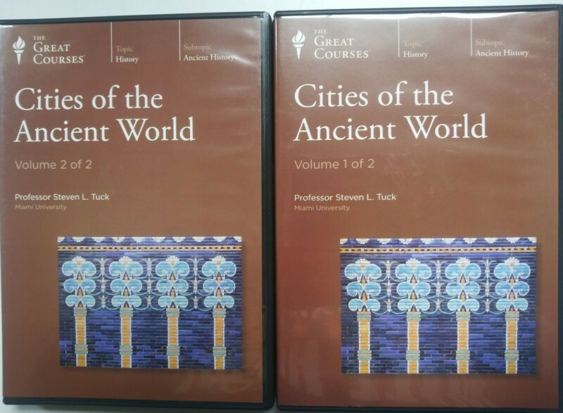 Cities of the Ancient World: The Great Courses. 12 Compact Audio Discs.