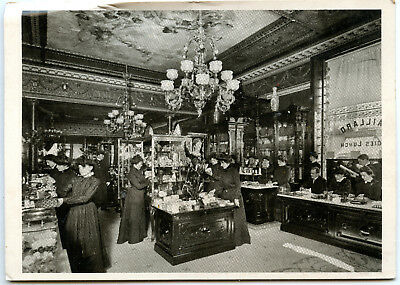 MAILLARD'S Candy Store Vintage POSTCARD New York City 1901 Reproduction - Candy Store Nyc