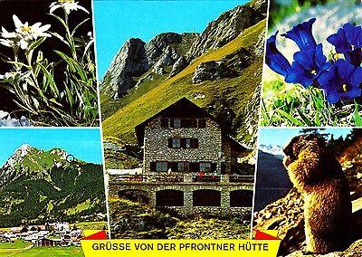 Grüsse von der Pfrontener Hütte , Ansichtskarte