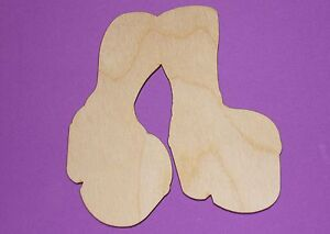 Platform-Shoes-Shape-Flat-Unfinished-Wood-Craft-Cut-Outs-Variety-Sizes-PS2109