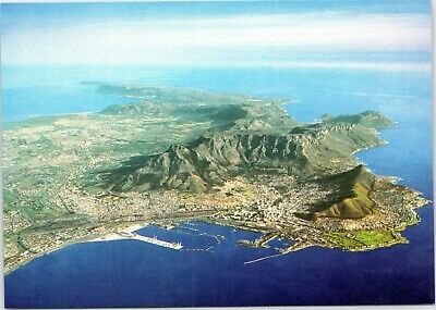postcard South Africa - Cape Town - Aerial view of the Cape (Aerial View Of Cape Town South Africa)
