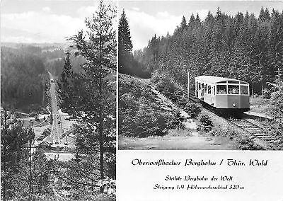 BG33366 schwarzatal thur wald oberweissbacher bergbahn train railway  germany