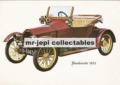 Humberette  1913  Fridge Magnet     90 mm  x  60