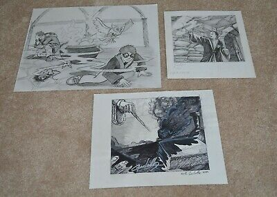 aec71d139 21 Harry Potter original art for cards by Greg Hildebrandt & more J. K.  Rowling