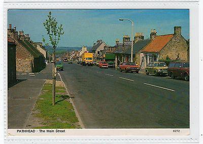 THE MAIN STREET, PATHHEAD: Midlothian postcard (C23291)