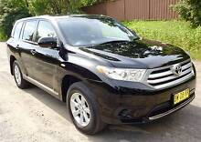 2013 Toyota Kluger KX-R 52000 Kms Rego 7/16 North Rocks The Hills District Preview