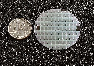 Rare 2 Silicon Wafer - 1970s Syncronar Led Watch Chips