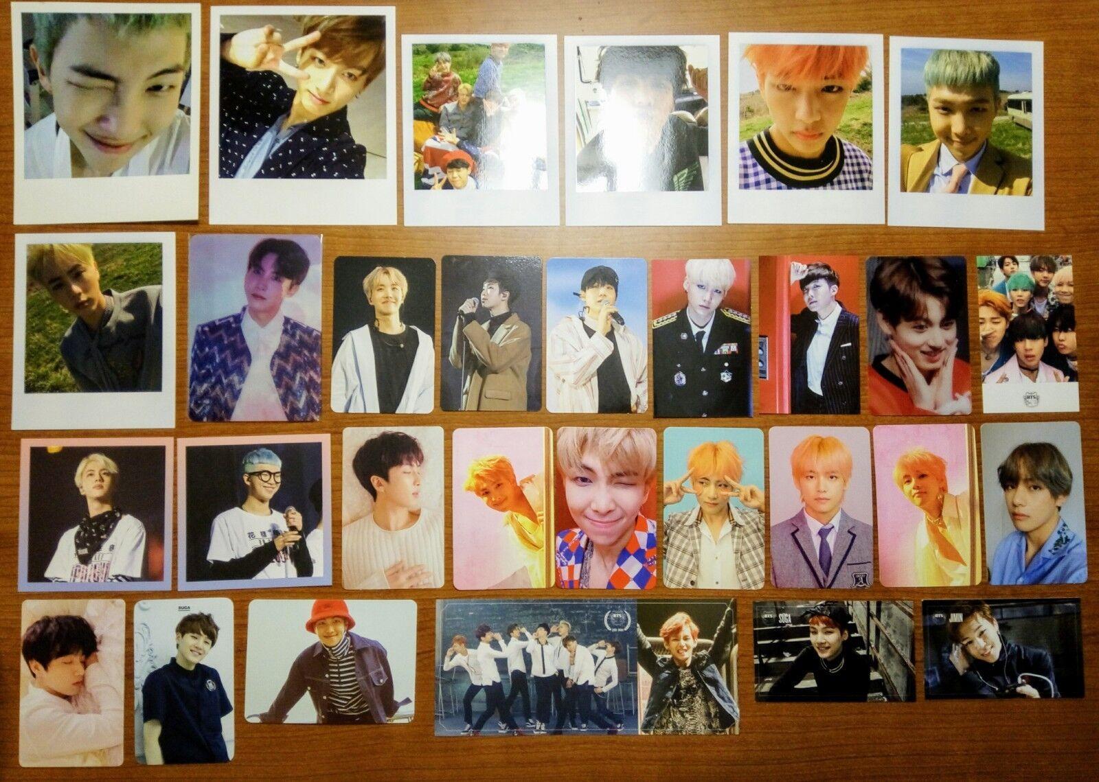 BTS Official V SUGA JIN JUNGKOOK RM photocard Wings Love Yourself Tear US seller
