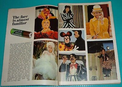 1970 TV ARTICLE~CAROL BURNETT SHOW~DIFFERENT COSTUMES & CHARACTERS~Harvey Korman](Tv Show Characters Costumes)