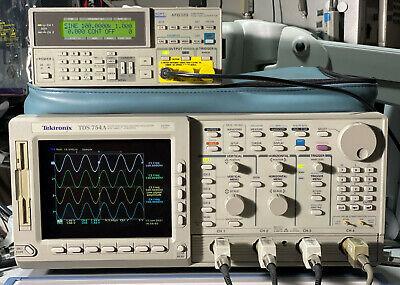 Tektronix Tds754a Oscilloscope 500mhz 2gss 13 1f 1m 2f