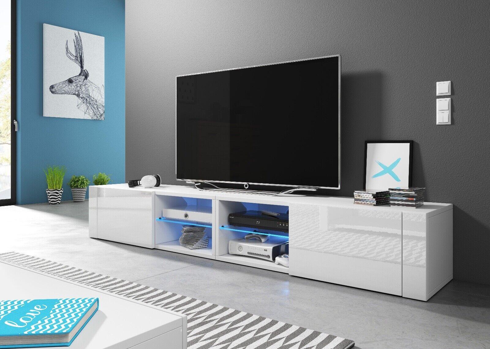 Sideboard Lowboard TV Fernsehschrank HIT2 double 200 Kommode inkl LED Highboard