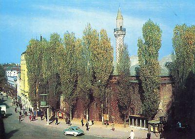 Alte Postkarte - Plovdiv - Ansicht der Stadt