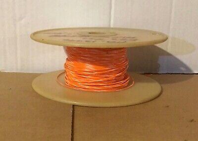 E22 Teflon Wire Orangewhite Awg 22 60 Ft. Length 730 Stranded Mil168784