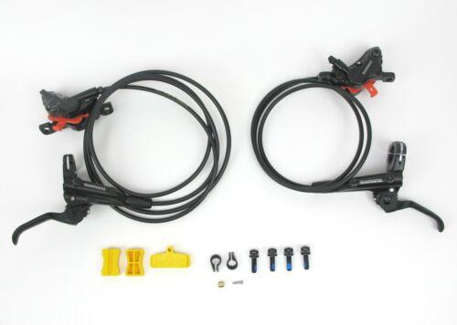 Shimano MT520 Hydraulic Disc Brakeset - Front & Rear - 4 Piston eBike Enduro