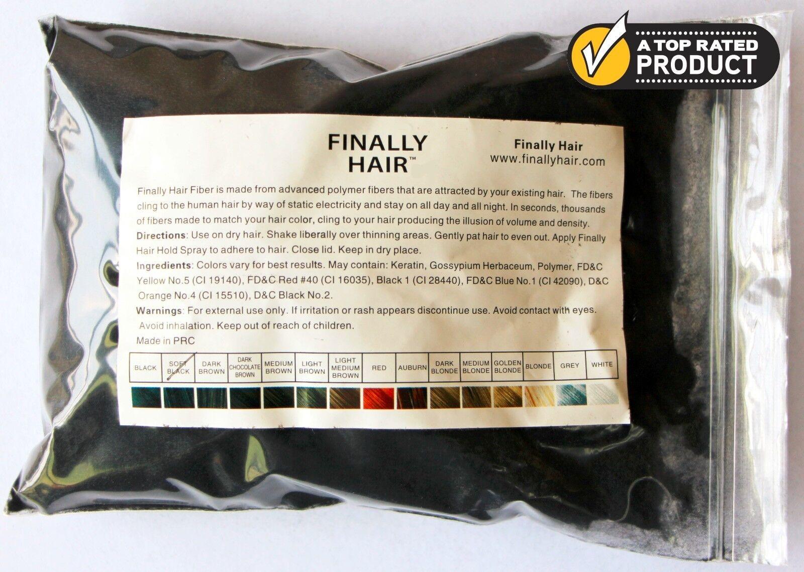 Keratin Hair Building Fibers 57g Refill Hair Loss Concealer 25750+ SOLD ON EBAY!